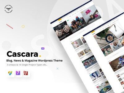 Cascara - Blog, News & Magazine WordPress Theme wpml theme review publishing publisher personal newspaper news modern magazine lifestyle fashion editorial clean blog