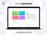 Politics Admin Dashboard UI Kit