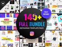 Instagram Post Templates Full Bundle