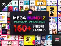 Instagram Mega Bundle Template Pack