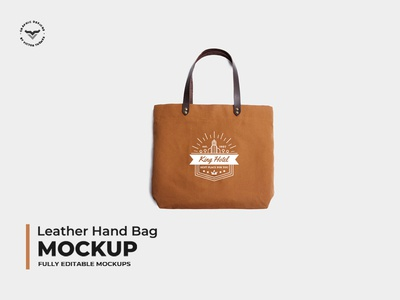 Leather Hand Bag Mockups