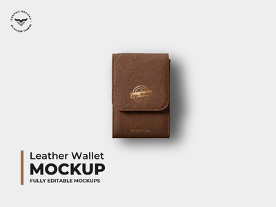 Leather Wallet Mockups