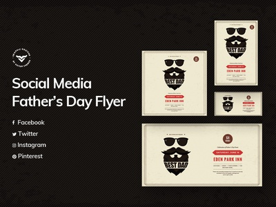 Fathers Day Social Media Template