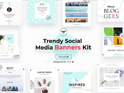 Social Media Banners Pack IX