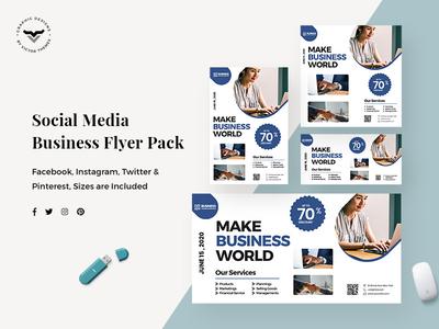Business Social Media Template