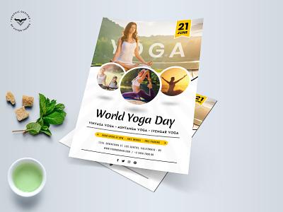 Yoga Flyer Template yoga