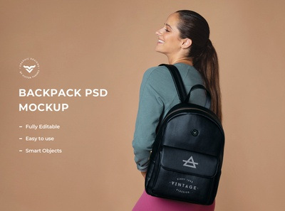 Backpack Mockups