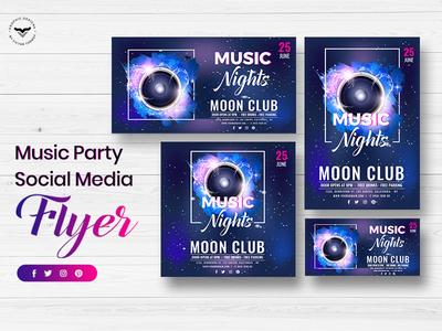 Music Social Media Template