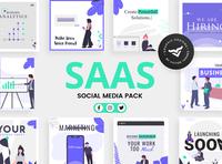 SAAS Business Social Media Template