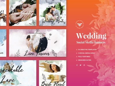 Wedding Social Media Template