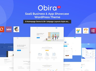 Obira - SaaS Business & App Showcase Theme