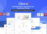 Obira - SaaS Business & App Showcase Theme