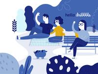 Facebook Food | Hello Dribbble!