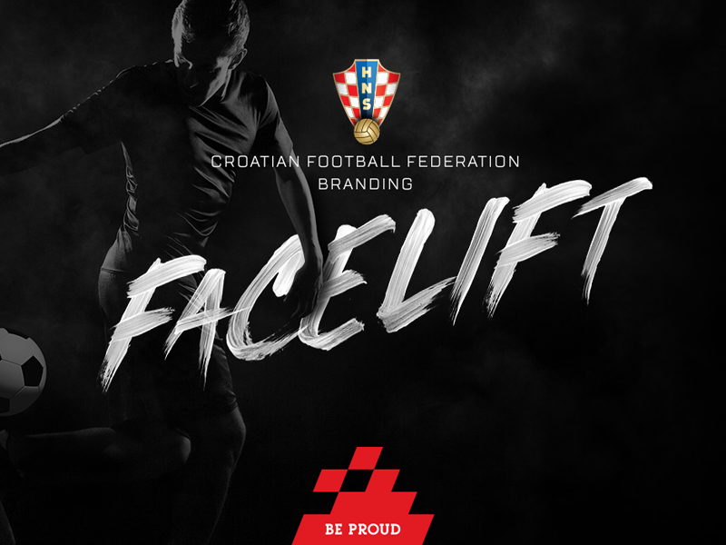 Croatian Football Federation Branding Facelift russia 2018 facelift branding croatia world cup fifa football