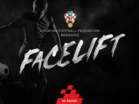 Croatian Football Federation Branding Facelift