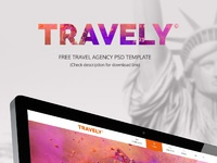 Travely dribbble showcase
