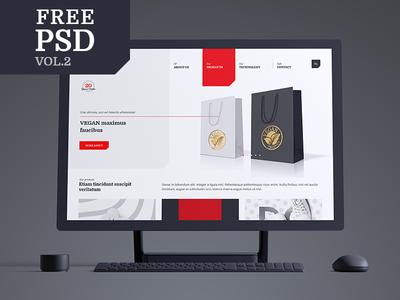 Friday Freebie: Free Multipurpose PSD vol. 2