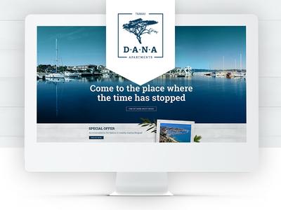 Dana Apartments Website Showcase