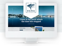 Dana Apartments Website Showcase