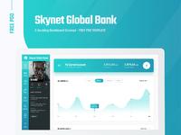 Template bank freepsd behance