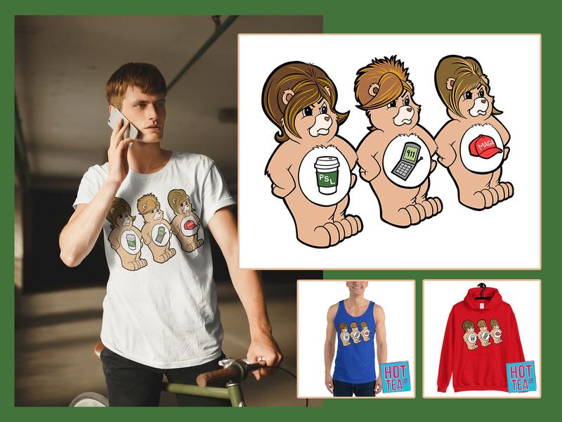 The Karen Bears tshirt art illustration art illustration design