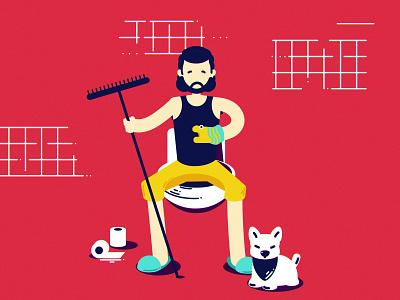 T dragon john snow dog game of thrones got vector illustration