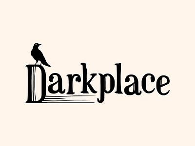 Darkplace branding vector minimal logotype logo