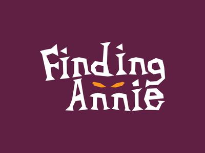 Finding Annie vector minimal logo logo design design branding
