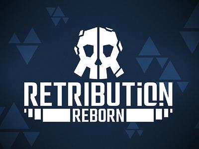 Retribution: Reborn Logo icon vector logo design design branding logo