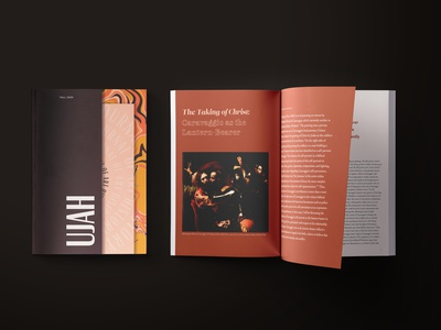 UJAH Journal – Cover & Spread editorial layout design