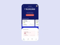 Finance Lending App Concept uiux ui app design finance app money lending app finance
