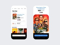 Movie Ticketing Concept movies ux ui booking app booking design interaction interactiondesign apps app design movie app ticketing movie