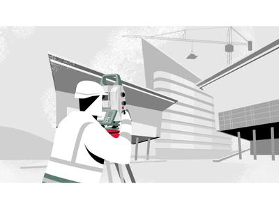 Leica Inspect Surface – 2D Animated Explainer Video explainervideo mograph motion graphics explainer explainer video animated video illustration motion animation 2d art character animation 2d character 2d animation