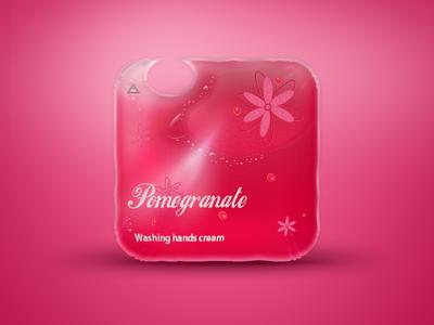 """Washing cream"" bag iOS icon"
