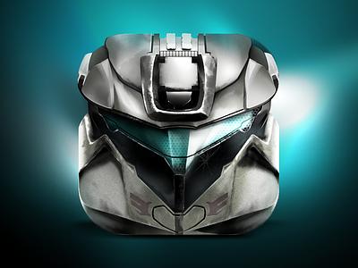 Spartan Helm Icon variant game halo spartan ios iphone ipad icon video xbox