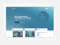 NeonVision - Corporate web concept