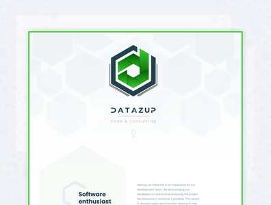 DataZup - Landing page 2019 / logo