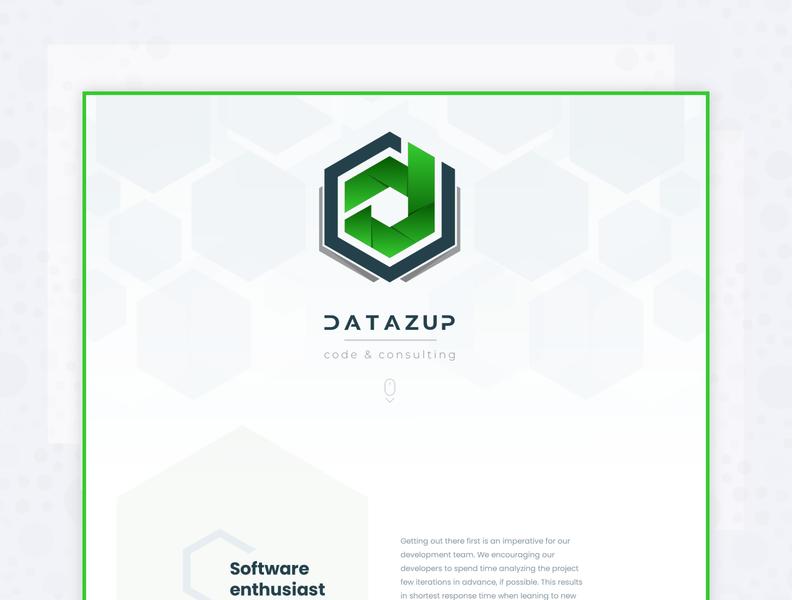 DataZup - Landing page 2019 / logo webdesign adobe xd ui landing neehad datazup
