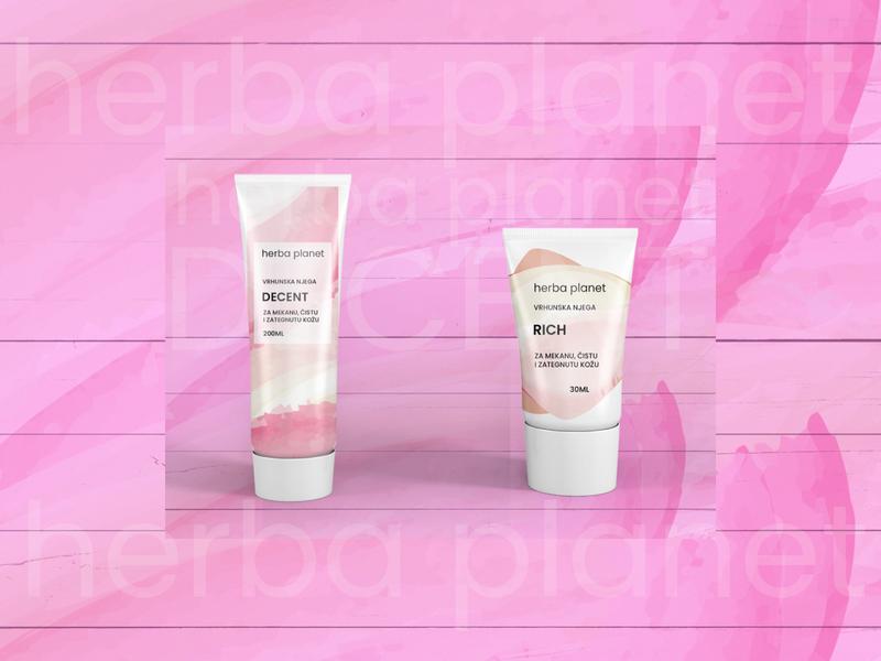 Cream Tube Packaging - herba planet other 2018 herba planet sticker packaging design packaging