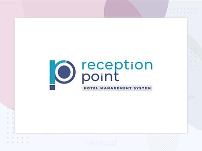 reception point / logo 2018 neehad logodesign logo reception point