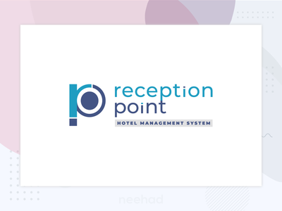 reception point / logo 2018 neehad logodesign logo reception point