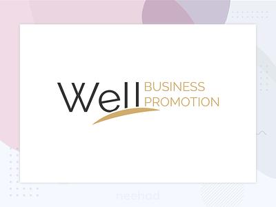 Well Business Promotion / Logo branding 2017 neehad logo design logo