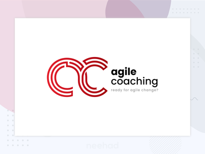 agile coach / logo affinitydesigner neehad 2018 logo designs logo design