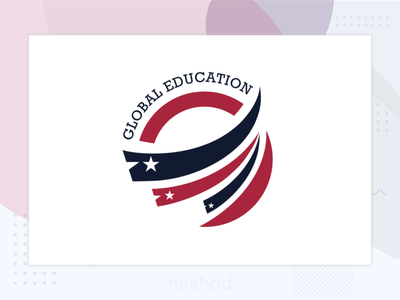 Global Education / Logo 2016 neehad logo design logo