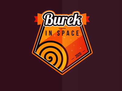 BUREK IN SPACE - BUREK U SVEMIRU - 2020 SPACE PATCH