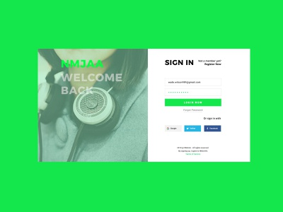001 Sign Up photoshop 100 day challenge 100 daily ui form sign in layout website ux design illustration