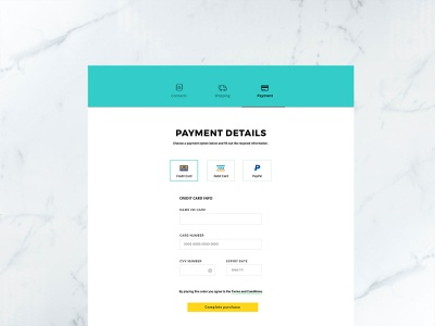 002 Credit Card Checkout Cover payment form 100 daily ui layout ux ui design