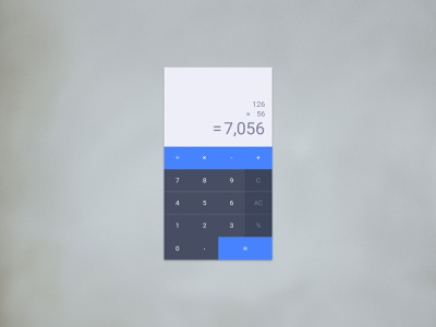 004 Calculator Cover 100 day challenge 100 daily ui app concept ux calculator uidesign design