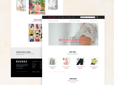 003 Landing Page   Cover2 adobe xd ux ui uidesign minimal fashion website ecommerce 100 day challenge 100 daily ui