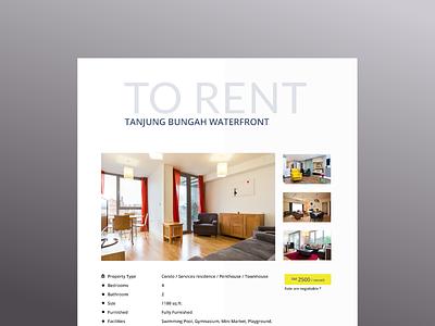 Property Details ux website ux ui minimal design uidesign adobe photoshop cc